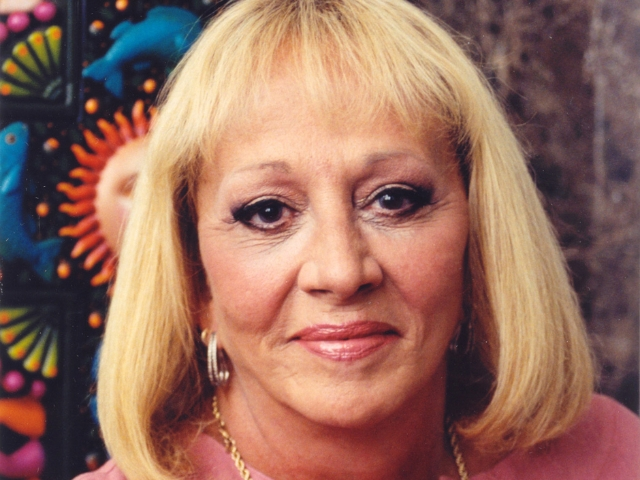 Calgary-12/16/05- Psychic, Sylvia Browne. Photo by Sylvia Browne Corp. (For Living story by Robin Summerfield)